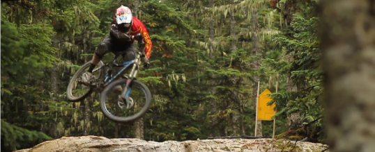 Whistler bike park- Remy Metailler